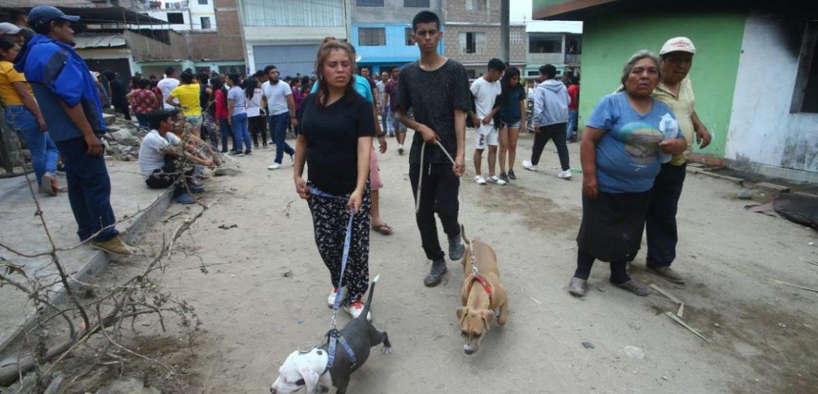 Menor sufrió quemaduras tras salvar a su perro de incendio en VES