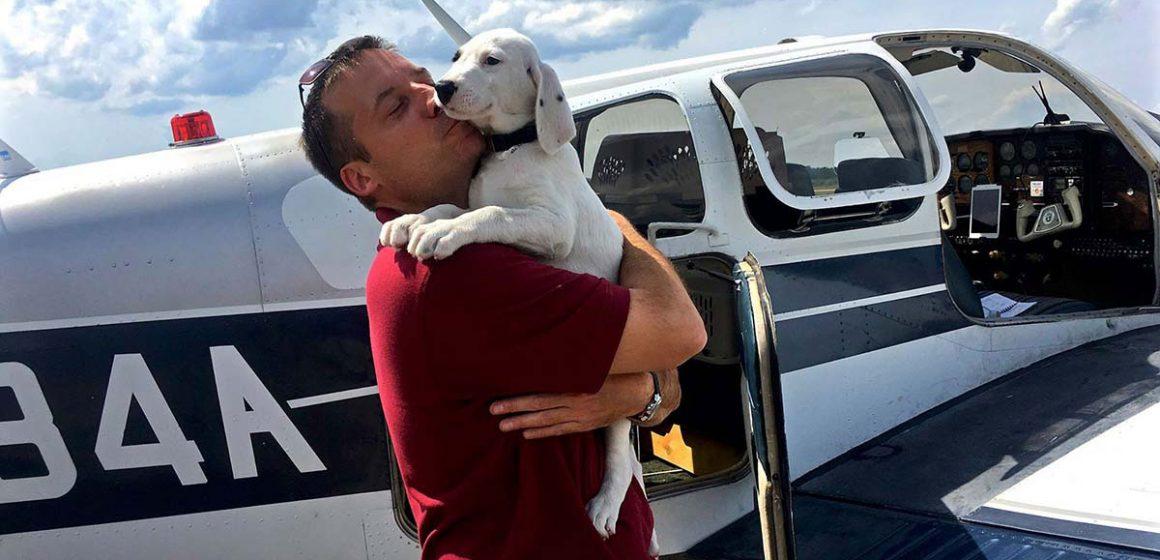 Hombre compró avión para rescatar animales