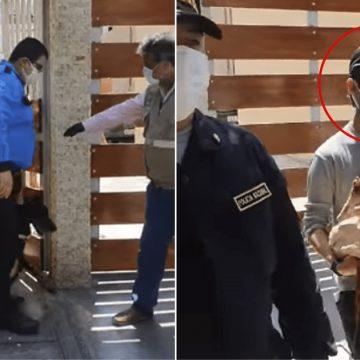 ¡Admirable! PNP rescató a dos perros maltratados en Miraflores